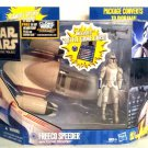 Star Wars Deluxe Freeco Speeder/501st Clone Trooper (Hoth Gear)| Hasbro Clone Wars Vehicle