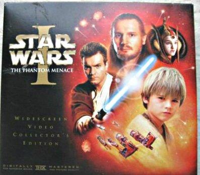 Star Wars Trilogy Collector's Box Set WS VHS Video [Sealed] Episode 1 Phantom Menace