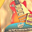 Gibson Les Paul for 1/6 KISS Ace Frehley | Miniature Guitar Collectible Replica, Resaurus Pickups