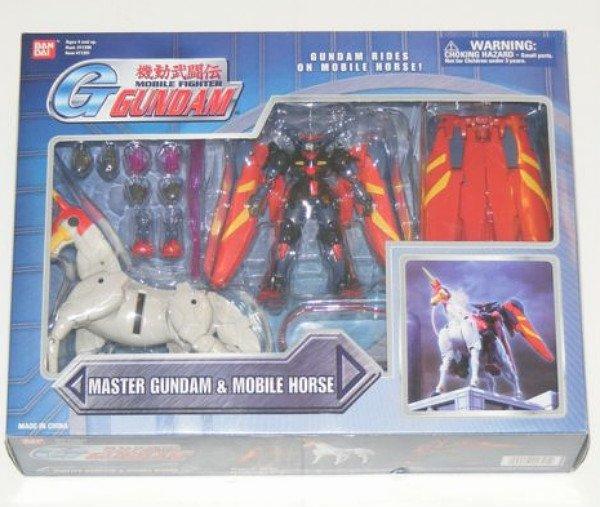 "Bandai Master Gundam & Mobile Horse Fuunsaiki Deluxe msia 4.5"" AF [null]"