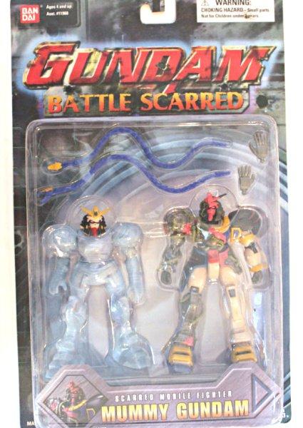 "Battle Scarred Gundam Mummy (Pharaoh) Deluxe Msia Action Figure 4.5"" Bandai 11433 [null]"