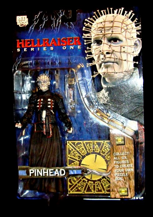 2003 Neca Cult Classics: Hellraiser Pinhead Puzzle Box-Reel Toys Cenobite-Clive Barker-Doug Bradley