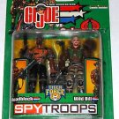 Spy Troops G.I. Joe 2003 Tiger Force Roadblock Wild Bill 2-Pack 3.75""