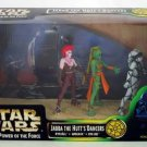 Jabba's Dancers|Jabba Throne Room Diorama|Star Wars rotj|Kenner potf .00 Cinema Scene