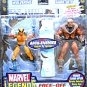 Marvel Legends X-Men 2-Pack Face-Off Series Wolverine & Sabretooth Arch-Enemies 71346 Toybiz 2006