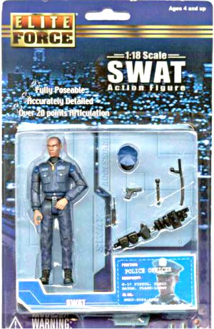 "BBI Elite Force 1/18 Military SWAT Police Officer-Gi Joe 3.75""-Ultimate Soldier"