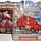 Energon Autobot Inferno MISB Deluxe Hasbro Transformers 2003 Robot in Disguise | DC Collectibles