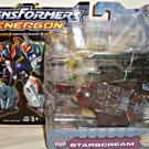 Hasbro Energon Starscream (Black, Ghost) Deluxe Transformers Decepticon MISB | DC Collectibles