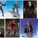 "Spider-Man Legends 6"" : Sinister Six Foes 8pc Set: McFarlane Spiderman / Classics Daredevil"