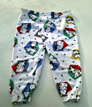Carter's Boys Toddler Pajama Pants 2Yr (Puppy Dogs) (Vintage) (USA)