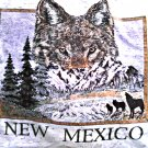 New Mexico Wolf Shirt Top| Boys Toddler Clothing Size 2-4