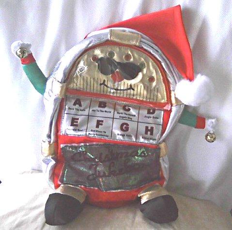 Animated Xmas Jukebox (Music+Lights) Singing Plush Toy Doll | Holiday Decor, Kohls Exclusive