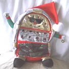 Dancing Christmas Jukebox Musical Animated Lights Holiday Decor Plush Toy