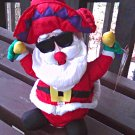 Singing Dancing Santa Electronic Animated| Festive Holiday Christmas Decor, Plush Doll Toy