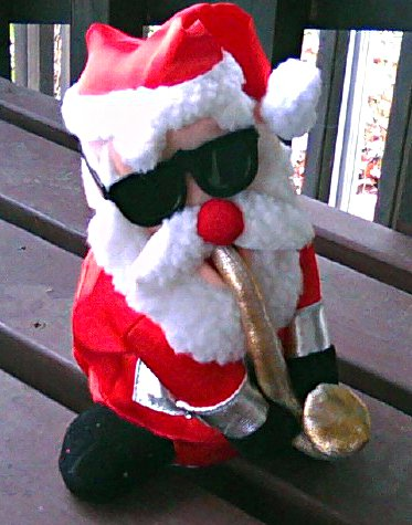 Animated Dancing Santa+Sax, Musical Xmas Holiday Decor-Plush Toy Electronic, Kohls Exclusive