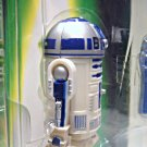 Star Wars POTF2 Commtech R2-D2 Astromech Droid Holo Leia Variant MOC