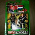 Flint Blackout GI Joe vs Cobra SpyTroops 2 Pack Comic #4 2003 Figures Hasbro