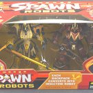 McFarlane&#39;s Manga Spawn Samurai Warrior Robots 2pk Deluxe Boxed Set
