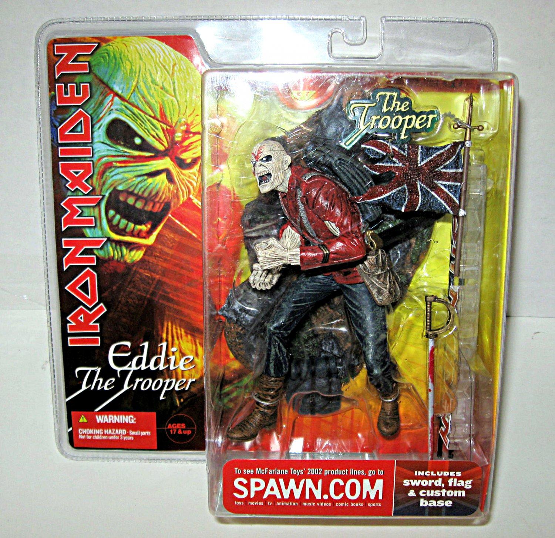 "McFarlane Toys 12211: Eddie Iron Maiden The Trooper 7"" Super Stage Action Figure (2002) � Neca"