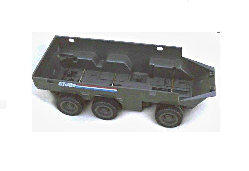 1983 GI Joe: ARAH APC vintage vehicle parts lot 80s toy