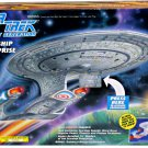 "USS Enterprise D Starship, Star Trek TNG Playmates 15"" Collectors Model Light Sound"