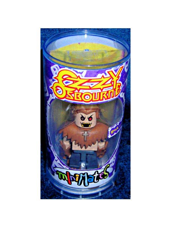 2002 Art Asylum Ozzy-MiniMates Series 1-Rock Legends| Lego Minifig | Medicom Kubrick Style
