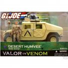 G.I. Joe Desert Humvee/Duke| DTC Night Ops Vehicle | 2004 Valor Venom VvV (POC 30th Arah 25th)