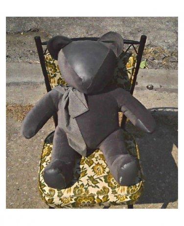 "Giant Teddy Bear--Handmade Doll--Vintage 20"" Jumbo--Antique Collectable"