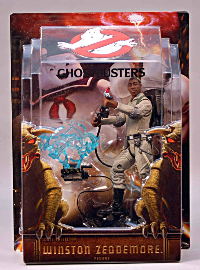 Ghost Trap Ghostbusters Mattel Winston (Unreleased Prototype) | Matty Collector Masters Classic
