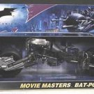 "Batman Dark Knight 1:12 Bat-Pod, Mattel Movie Masters 6"" DCU Batcycle Batmobile Vehicle, Target 2008"