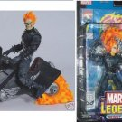 Ghost Rider & Flame Cycle + Comic | Marvel Legends Series 3. III. ToyBiz Action Figure