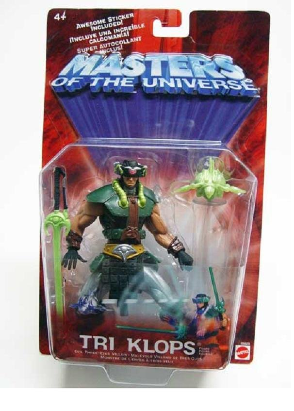 MOTU Tri-Klops He-Man Masters of Universe Modern Classic 200x Series Snakemen Mattel 55625