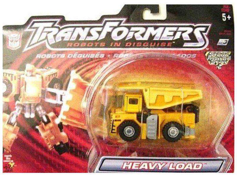 Hasbro Transformers 80584: RID 2001 Heavy Load (Landfill Combiner) Takara Build King