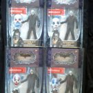 "Batman Dark Knight Joker Gotham Thug Bank Robber 6"" AF Set (4) Clown Mask - Mattel 2008 DC Comics"