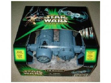 Tie Fighter Imperial Bomber + Pilot Star Wars Saga Walmart EX 26479 PotJ Collection