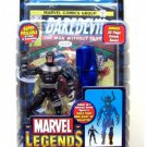 "Bullseye Marvel Legends Galactus BAF Series 6"" Figure + Daredevil #132, Toybiz 2005 [Dark Avengers]"