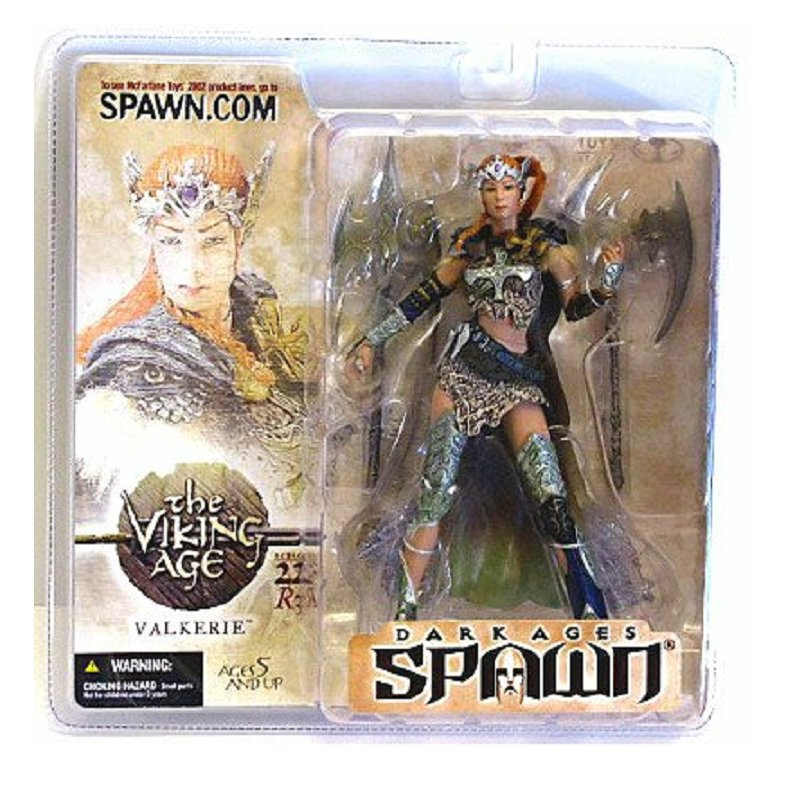 McFarlane Toys 11263: Dark Ages Spawn Series 22 Viking Valkerie R3 [Red Hair Variant]