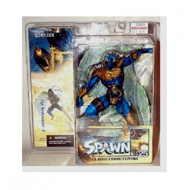 Spawn Series 25 Classic Cover Art, i.117 Redeemer II (Green Wings) | McFarlane Toys Action Figure