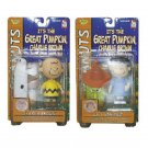 Peanuts Memory Lane It's the Great Pumpkin Charlie Brown/Lucy Figure Set Halloween 2002 FAO Ex