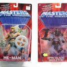 2002 motu Original He-Man and Skeletor | 200X Masters Universe Action Figures