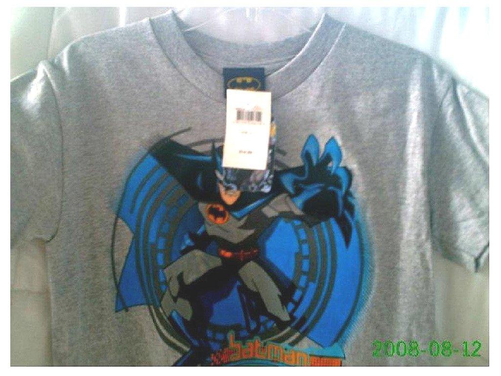 Batman Animated Series 2005 DC Comics Boys L T-Shirt NWT The Dark Knight