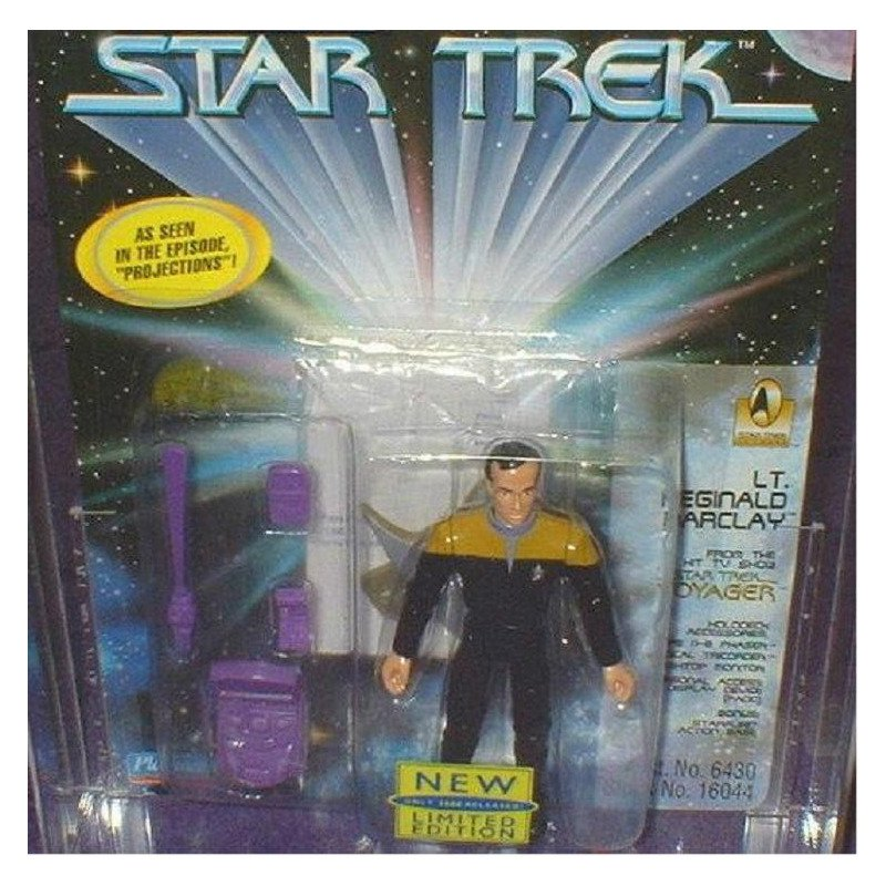 1701 Voyager Barclay Limited AF, Low# Star Trek|Tapestry Picard| Yesterday's Yar| Tri-Fold Borg