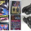 1991 Kenner Batman Returns Batmissile 89 Burton Batmobile Dark Knight Vehicle + Keaton figure set