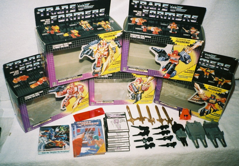 1986 G1 Transformers Predaking Vintage MISB Sealed AFA