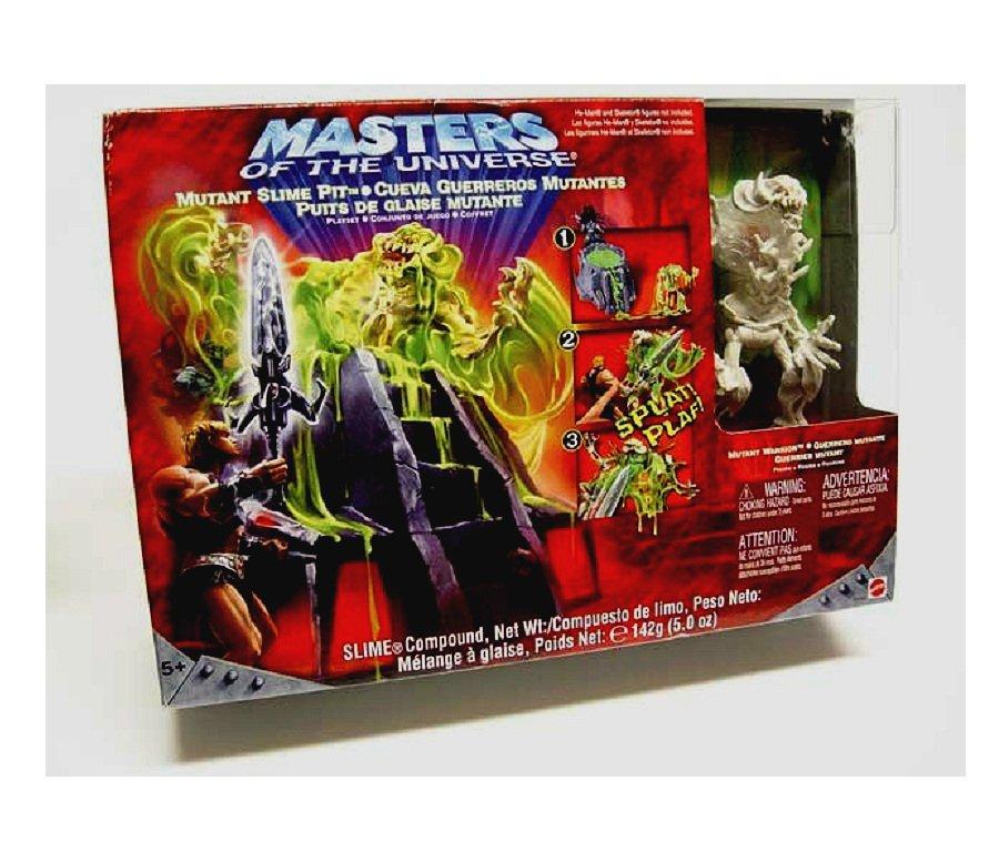 Horde Slime Pit He-Man Ooze MotU Playset + Skeletor Throne, B3231 Mattel 200x Four Horsemen