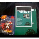 Gatchaman GForce Cast Tour SDCC Press Kit Poster+BotP Mark+God Phoenix-Tatsunoko 30th G-1 Ken Promo