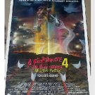 Wes Craven Nightmare on Elm Street Movie Poster Orig Horror Freddy Krueger
