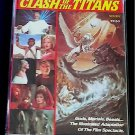 Clash of the Titans 1981 Harryhausen Golden Comic (Kraken Bubo Pegasus Perseus)