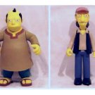 Cooder & Sinclair Interactive Mail Away Simpsons Action Figure 2-Pack, Playmates WoS 42054