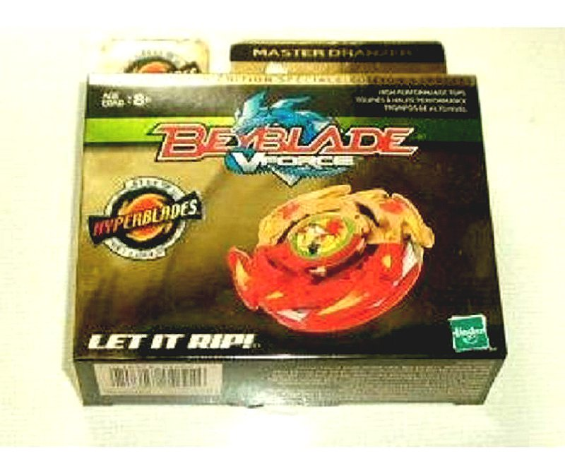 Beyblade HMS Metal Fusion VForce Takara Limited Edition: A-32 Master Dranzer (Gold Series) MISB